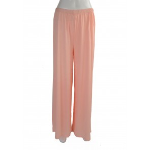 CLASSIC WIDE LEG JERSEY TROUSER PINK