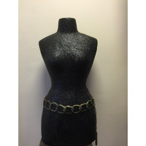 LARGE CHAIN AND TASSEL BELT