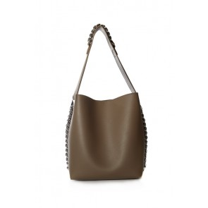 CHAIN SIDES AND HANDLE BAG