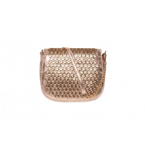 EYELET FLAP CROSS BODY BAG