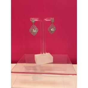 ART DECO STYLE CRYSTAL EARRINGS
