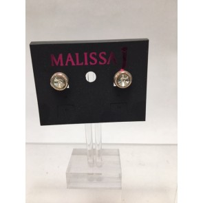PACK OF 2 MAGNETIC CRYSTAL STUD EARRINGS