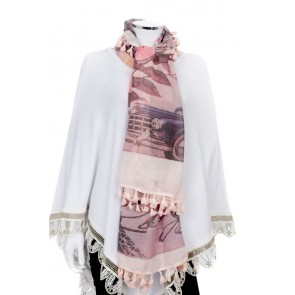 PACK OF 3 FLOWER & FRENCH STYLE PRINT SCARF