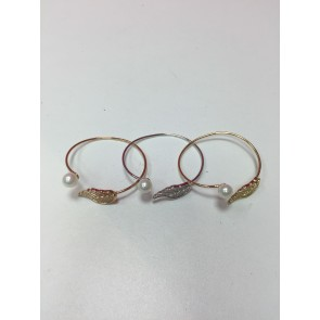 PACK OF 3 WING & PEARL BANGLE